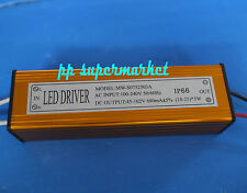 1pcs LED driver for 18-25x3w 600MA waterproof constant current source, ballast