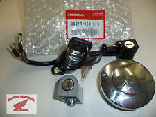GENUINE HONDA REBEL KEY LOCK SET IGNITION SWITCH HELMET LOCK GAS CAP FRONT FORKS