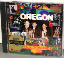 CHESKY CD JD 130: Oregon - Beyond Words - USA 1995 Factory SEALED