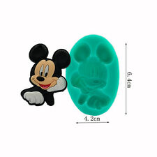 Mickey Mouse Silicone Fondant Mould Cake Decorating Chocolute Mold