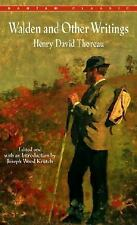 Walden and Other Writings Thoreau, Henry David Paperback