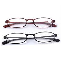 Neue Flexible Matte Lesebrille TR90 Leser Brille +1,0 +1,5 +2,0 +2,5