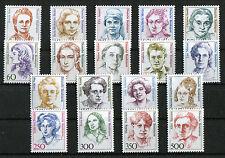 Bund Frauen sauber postfrisch 1432-1433,1427-1428,1405,1397,1390-1393,1365-136