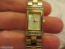 YVES SAINT LAURENT YSL DIAMOND BRACELET CONVERTIBLE WRIST WATCH GREAT CONDITION