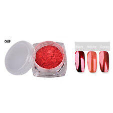 New 10Colors Metallic Magic Mirror Chrome Effect Dust Nail Art Powder 2g 8#