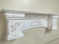French Country Mantle Shelf, Large Mantle shelf, Fancy Mantle,72 nch mantle