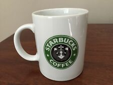 Starbucks Coffee BIA Cordon Bleu Split Tail Mermaid Mug Cup Hand Decorated Belly