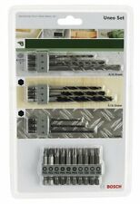 Set 19 PCs. UNEO Bits and Tips screwed BOSCH 2609256989