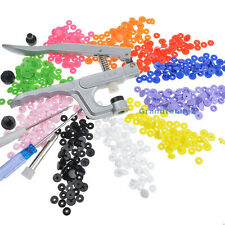KAM Snap Pliers Kit 150 Sets Resin Snap Fasteners Press Stud Ribbon Dummy Clips