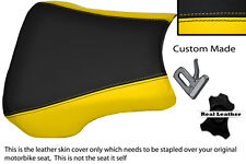 YELLOW & BLACK CUSTOM FITS HONDA CBR 02-03 900 RR FIREBLADE FRONT SEAT COVER