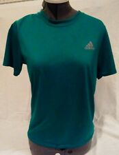 Kids Adidas Hunter Green Color Athletic Soccer Shirt Size M 8-10