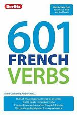 601 French Verbs (601 Verbs) (English and French Edition), Berlitz, New Books