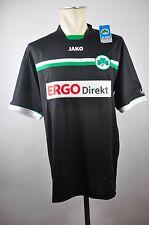 2012-13 SpVgg Greuther Fürth Away Trikot Ergo Direkt Gr. L Bundesliga schwarz