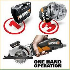 Worx 400W Worxsaw Circular Plunge Saw Brand new sealed. 3 X  Blades included