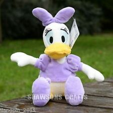 "DISNEY MICKEY MOUSE CLUBHOUSE PLUSH STUFFED TOYS DAISY DUCK 13"" SOFT DOLL"