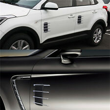 Flow Vent Fender Intake Grille Air Net Door Decal Auto Sticker for Car Hood Side