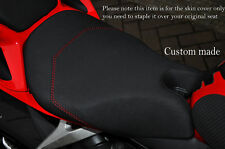 GRIP VINYL RED DS ST CUSTOM FITS DUCATI 899 1199 FRONT COMFORT SEAT COVER