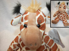 "Giraffe 9"" Sitting Plush Stuffed Teddy Mountain Brand NEW with tag"