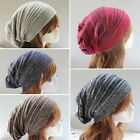 Unisex Women Men Warm Winter Baggy Beanie Knit Crochet Oversized Hat Slouch Cap