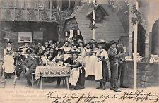 Düsseldorf Kunst Gartenbau Austellung 1904 Restaurant Oberbayern