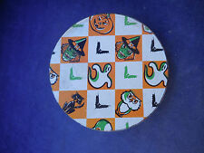 VINTAGE TIN METAL HALLOWEEN NOISEMAKER - GREAT GRAPHICS