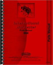 International Harvester 584 Tractor Parts Manual