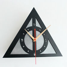 """Creative Wall Clock Home Decor Watch  Harry Potter Deathly Hallows 11.8"""""""