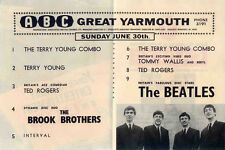 THE BEATLES REPRO 1963 GREAT YARMOUTH ABC 30 JUNE CONCERT PROGRAMME