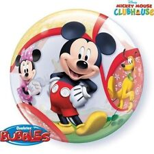 "1 x Qualatex 22"" Ballon Bulle - Mickey Mouse Clubhouse"