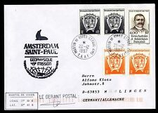 TAAF 286, 329, 361 Polarpost Amsterdam St. Paul Geophysique Mission 20.12.1997