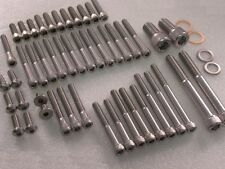 Harley Davidson XR1200 Stainless UNC Allen Capscrew Bolt Kit (for engine covers)