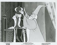 WALT DISNEY MERLIN THE SWORD IN THE STONE 1963 VINTAGE PHOTO ORIGINAL N°1