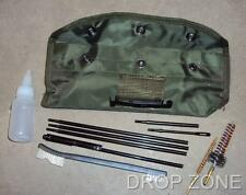 Reproduction M16 Rifle Cleaning Kit, Wire Brushes, Rod, Pull Through, Oil Bottle