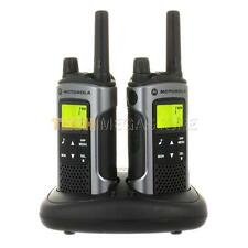 Motorola tlkr T80 Walkie Talkie Radio de dos vías Twin Pack 2
