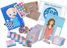 Baby Shower Party Games  /  6 GAMES  /  BLUE/BOY  /  up to 20 players