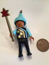 Playmobil Figure Castle Wizard's Workshop Child Apprentice Hat Vintage Rare 3839