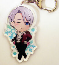 Victor Nikiforov Stay By Me Acrylic Keyholder - Official Yuri on Ice Strap A