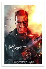 ARNOLD SCHWARZENEGGER TERMINATOR GENISYS SIGNED PHOTO PRINT AUTOGRAPH POSTER