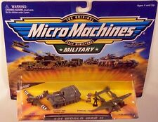 Military Micro Machines 1999 21 WORLD WAR II MOC C-47D, Elephant, P-38 Lightning