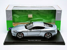 Welly 2013 Aston Martin DB9 Coupe Silver Color 1/18 Scale. In Stock!