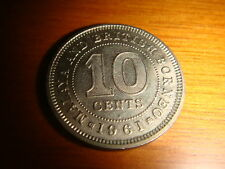 Malaya & British Borneo, 1961H, 10 Cents QE 2, Copper Nickel, UNC