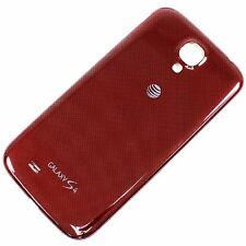New Replacement Red Samsung Galaxy S4 AT&T S 4 i337 Battery Back Door Cover Case