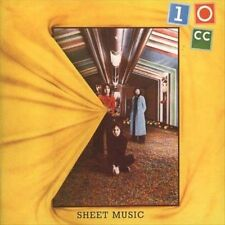 Sheet Music [Remaster] by 10cc (CD, Feb-2000, Repertoire Records (Germany))
