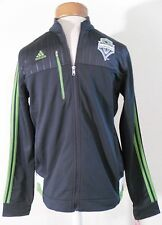 NWT Adidas Seattle Sounders FC Youth Logo Jacket S Dark Grey MSRP$60