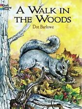 A Walk in the Wood Dover Nature Coloring Book Fun Filled Relaxing Reduce Stress