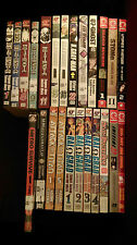 24 Shonen Manga comic book LOT Death Note Claymore Ral Grad Attack on Titan Jump