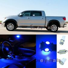 Pure Blue Light Bulb SMD Interior LED Package 13 Kit For 2007-2013 Toyota Tundra