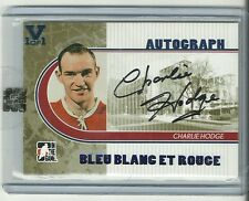 ITG Superlative Vault Charlie Hodge Blue Blanc Rouge Auto Autograph Card 1 of 1