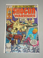 SHOGUN WARRIORS #14 VOL 1 MARVEL COMICS MARCH 1980