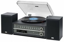 Teac MC-D800 Music Centre USB,Record Player AM/FM Radio CD & Bluetooth- Black